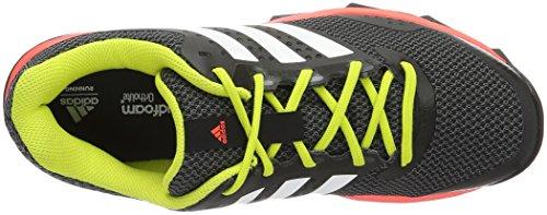 adidas Herren Duramo 7 Trail M Laufschuhe Black (Negbas / Ftwbla / Rojsol)