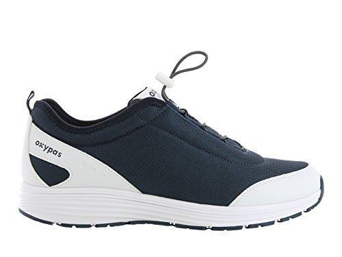 Oxypas Maud Damen Arbeits- und Sicherheitsschuhe | Sneaker, Farbe: marine, Größe: 38 Restaurant Rutschfeste Schuhe