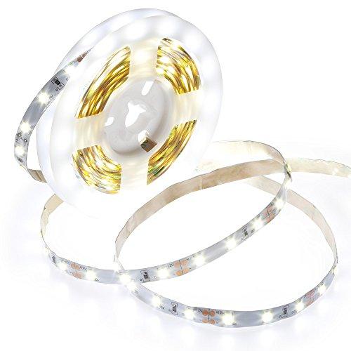 Anpro Spiegelleuchte, Schminktisch mit Beleuchtung 4M 12W Eitelkeit Led Streifen Licht Lichtleiste Lampe, Weiß