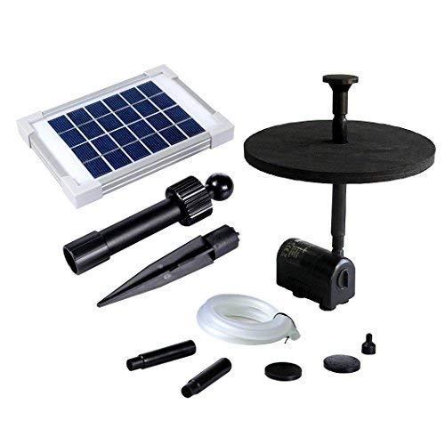 PK - Pompa solare per fontana d'acqua, con pannello di 70cm