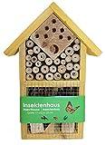 Stolz Insektenhotel Nistkasten Brutkasten für Schmetterlinge Bienen Käfer (Gelb)