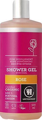Urtekram Rose Duschgel Bio, reine Verwöhnung, 500 ml