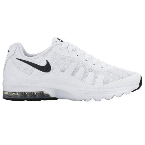 Nike Air Max Invigor, Chaussures de Running Compétition homme, Blanc (White/Black 100), 42