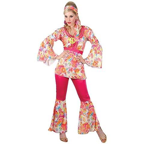 1960 Hippie - Hippie Honey (1960's) - Adult Costume Lady: