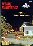 Telecharger Livres TRAINS MINIATURES No 17 du 01 03 1988 SPECIAL PANTOGRAPHES HO LA VIE C EST LE CHANGEMENT PAR GERARD FOURNEUF GENESE D UN RESEAU PAR JEREMY LEES COMMANDE DE PN PAR DETECTION PAR GERARD FOURNEUF LE MONTAGE DU PN PAR ALAIN CANDURO REGLEMENTATION DES PN PAR ALAIN CANDURO LIGNE DIEPPE LE TREPORT PAR DANIEL PAIN LES PANTOGRAPHES EN HO PAR PHILIPPE PAPION CONSTRUCTION DE LA BB 900 MISTRAL PAR CHRISTOPHE CROMBEE LA 050TD DE DJH JOCADIS PAR PHILIPPE PAPION AUTO (PDF,EPUB,MOBI) gratuits en Francaise
