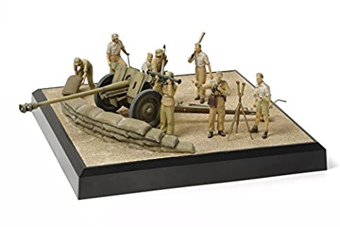 Military Collection Series No.8 1/35 German 7.62cm anti-tank gun PAK36 (r) North African Campaign 32408