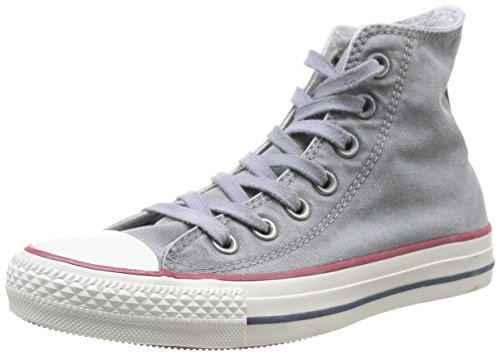 Converse Chuck Taylor All Star Wash Hi, Baskets mode mixte adulte Gris (Bleu Clair)