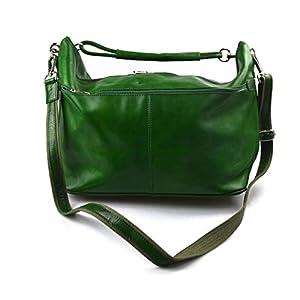 Herren leder reisetasche sporttasche schultertasche damen umhängetasche raumbeutel leder sporttasche grun reisetasche made in Italy