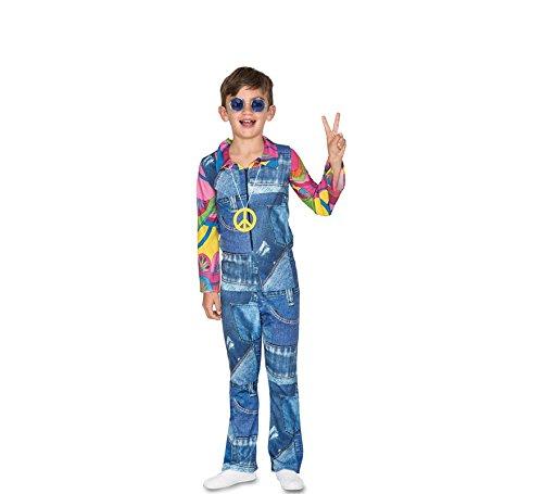 Fyasa 706463-t03Hippie Disfraz Infantil de Cowboy, medium