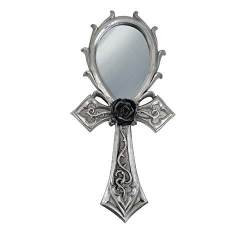 Alquimia gótico Ankh gótico mano espejo