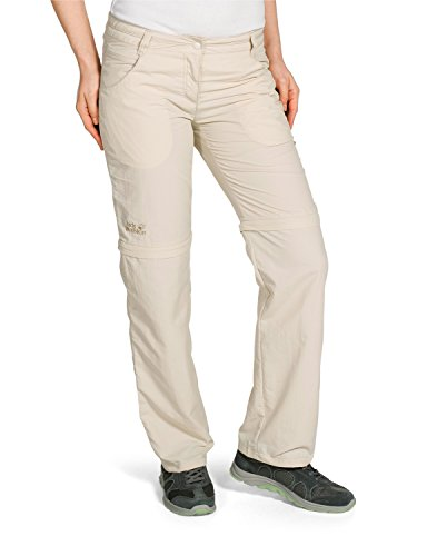 Jack Wolfskin Damen Hose Marrakech Zip Off Pants Women, White Sand, 23, 1501731-5017023 im Preisvergleich