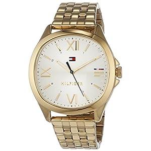 Tommy Hilfiger Reloj Analógico para Mujer de Cuarzo con Correa en Acero Inoxidable 1781889