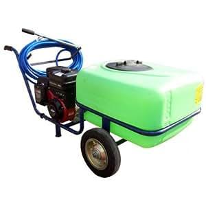 Pulvérisateur électrique sur 2 roues Taral - 100 litres - 25 bar - Briggs et Stratton