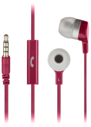 KitSound Mini In-Ear Kopfhörer mit In-Line Mikrofon Kompatibel mit Apple iPhone, iPod, iPad, BlackBerry, HTC, Nokia und Samsung Geräten - Pink - Ohrhörer Apple Ipad Mini