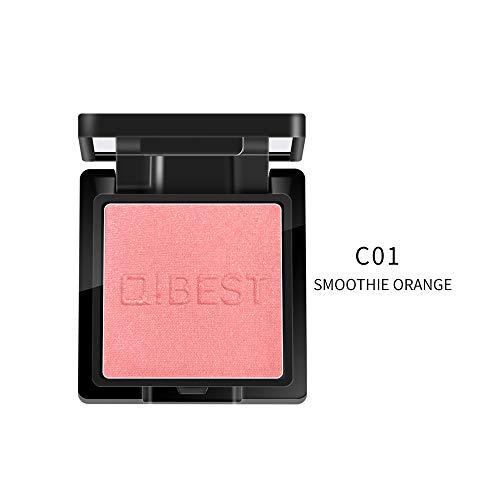 Highlight Femme,ITISME Pressé Blush Cheek Poudre Outil De Maquillage Surligneur Femmes Visage Blush Cosmétique