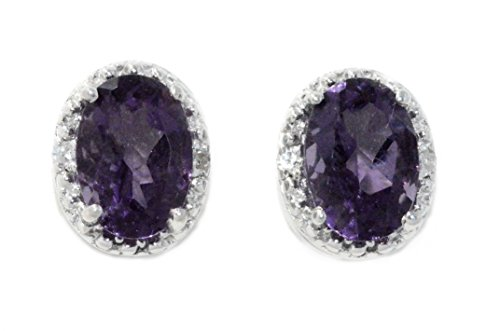 2-ct-created-alexandrite-diamond-oval-stud-earrings-925-sterling-silver-rhodium-finish