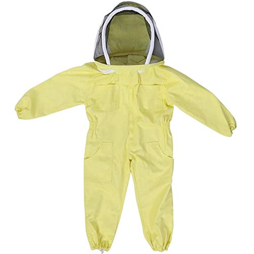 CUHAWUDBA Professioneller Kinder Schutz Anzug Für Die Bienen Zucht Bienen Züchter Bienen Zug Ausrüstung Farm Besucher Schutz Anzug Für Die Bienen Zucht L -
