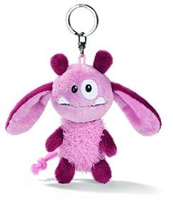 Nici 33385 - Llavero con monstruo de peluche, 10 cm, color rosa de Nici