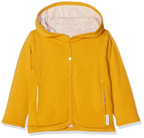 Noppies Unisex Baby U Cardigan rev Haye Strickjacke, Gelb (Honey Yellow C036), 56