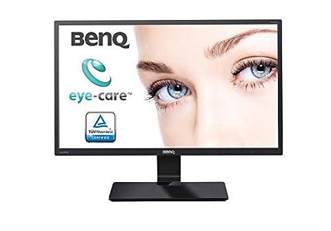 BenQ GW2470HM 23.8-Inch Widescreen VA LED Multimedia Monitor - Glossy Black