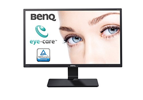 BenQ GW2470HM 23.8-Inch Widescreen VA LED Multimedia Monitor - Glossy Black