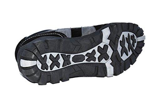 TMY- 130639623 chaussures de sport pour homme gris -gr. 41–46 couleur noir Multicolore - Schwarz/ Grau
