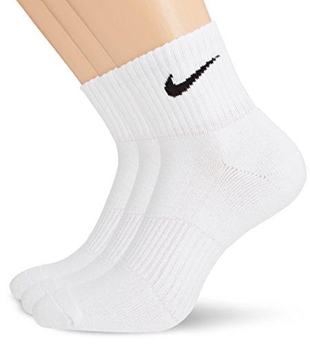 Nike Men's Cushion Quarter Socks (Pack of 3)