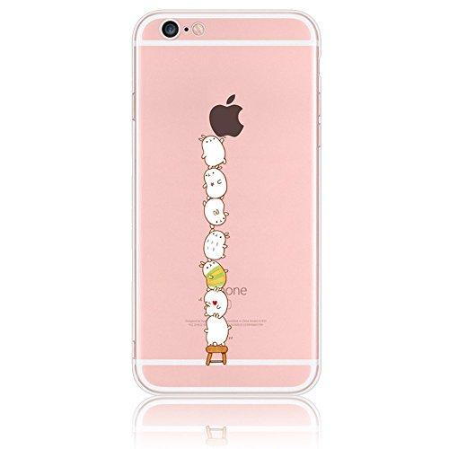 iPhone 4s Case Silicone - Sunroyal® Coque Souple Transparente TPU Silicone en Gel Case Premium Ultra-Light Ultra-Mince Skin de Protection Pare-Chocs Anti-Choc Bumper pour Apple iPhone 4/4s, Fée Pattern 19