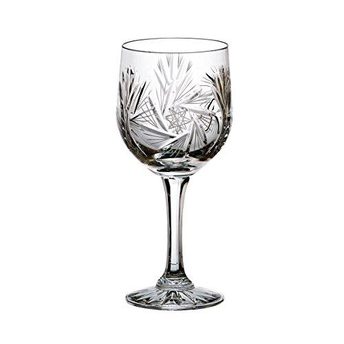 Crystaljulia 0210 Weinglas Bleikristall 6 Stück, 240 ml