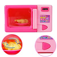 XuBa Kids Simulation Kitchen Microwave Toy Kit Game House Game Educational Puzzle Toy Gift