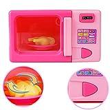 Faironly Kinder Simulation Küche Mikrowelle Backofen Spielzeug Kit Spielhaus Spiel Lernspiel Spielzeug Geschenk