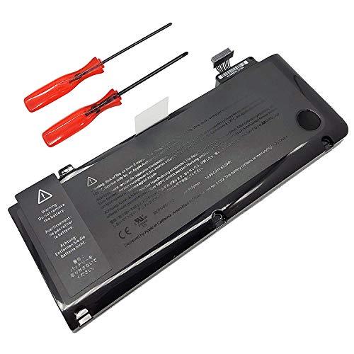JQSPOWER Ion de litio A1322 10.95 V 63.5 WH Batería de polímero, para Apple MacBook Pro 13.3 '(MID 2009 to Mid 2012); para Apple MacBook Pro 13' Unibody A1278 ((MID 2009 to Mid 2012) mc375d/A