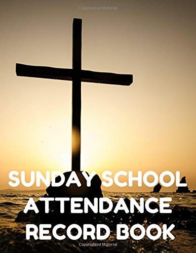 ance Record Book: Attendance Chart Register for Sunday School Classes, Sea Cover ()