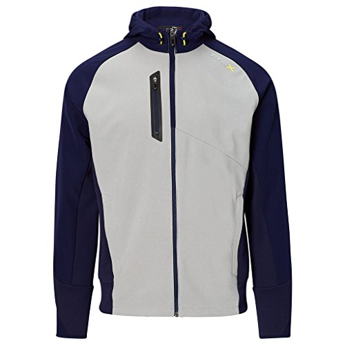 Ralph Lauren RLX Hooded Full Zip Heather/Navy M