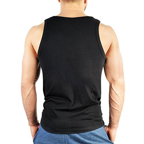 ärmelloses Herren T-Shirt zum Geburtstag - Geschenk zum 18. Geburtstag Geburtstagsgeschenk Geburtstagsshirt 18 Jahre Farbe: schwarz Schwarz