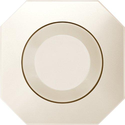 Preisvergleich Produktbild Merten 572644 Zentralplatte mit Drehknopf, weiß, OCTOCOLOR