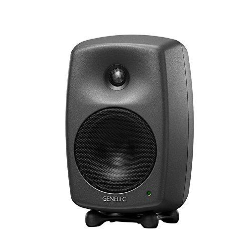 Genelec 8030B 80W Black loudspeaker - Loudspeakers (2-way, Wired, XLR, 80 W, 50 - 25000 Hz, Black)
