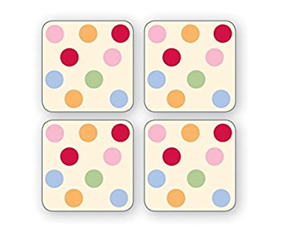 Cooksmart Spots Coasters, Pack of 4
