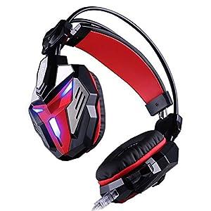 KARTELEI Gaming Headset Bass Shock Surround Noise Cancelling Kopfhörer für PC, Xbox One, PS4, Nnintedo Switch