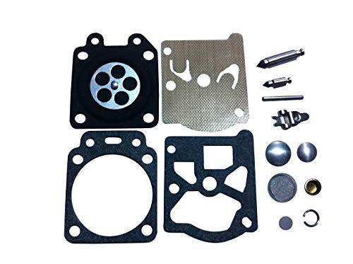 CTS, Kit de reparación y reconstrucción de carburador de remplazo Walbro  K20-WTA para carburador Walbro WTA Echo PB-250