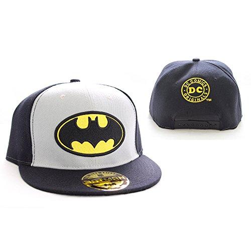Batman DC Comics Logo Classic College Casquette Snapback Casquette pour Homme