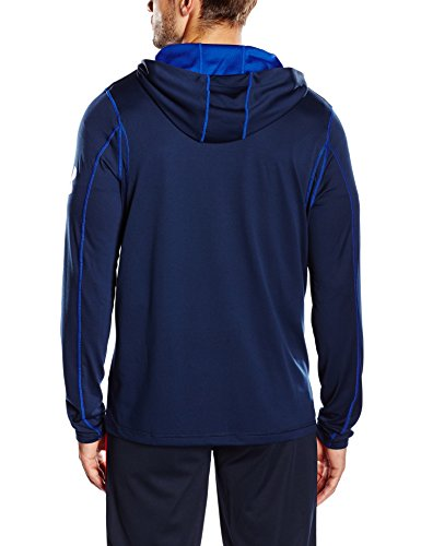 Under Armour, Felpa con cappuccio Donna Blu (Ady/Cba)