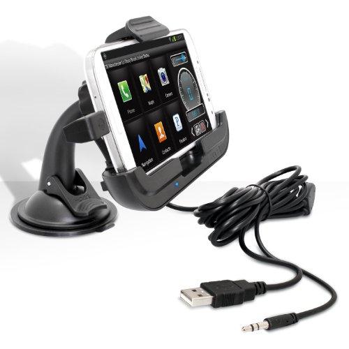 iBOLT Galaxy S3 / S4 Window/Dash Kit 2 0 - soporte de coche activo y  streaming audio (soporta Firmware 4 0 / 4 1 / 4 2)