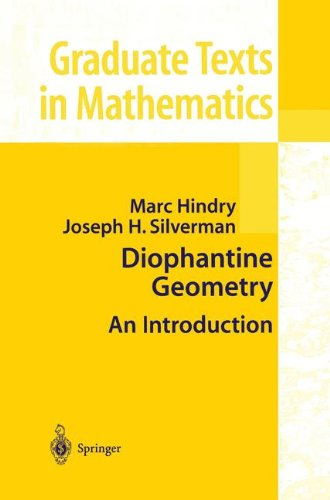 Diophantine Geometry : An Introduction par M. Hindry