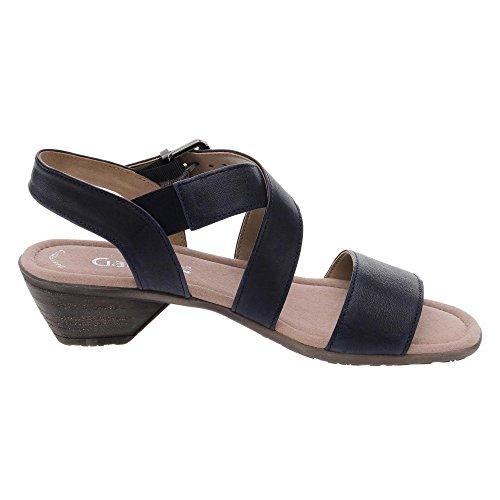 Gabor Damen Fashion Offene Sandalen mit Keilabsatz Ocean