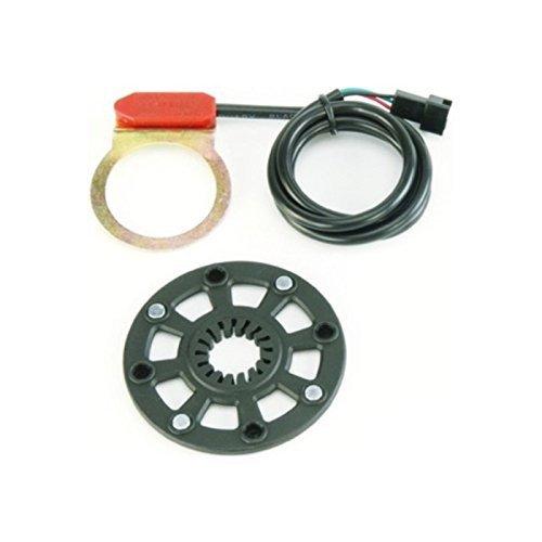 ANSMANN Pedelec-Sensor 2-teilig für Kettenradmontage, Sensor und Magnetscheibe, passend für 1-fach KRG
