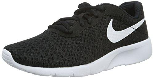 Nike Tanjun, Scarpe Running Bambino, Nero (Black/White-White), 40 EU