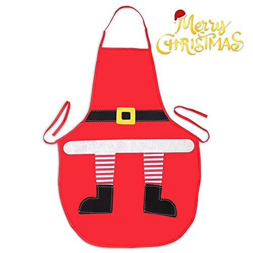 Mbuynow Zogin Grembiule Natalizio da Cucina Natale per Mamma, Moglie, e Chef