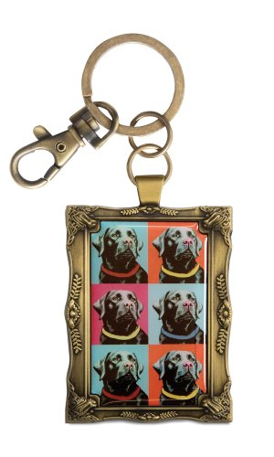 pavilion-gift-company-12017-paw-palettes-keychain-2-by-2-3-4-inch-black-lab-woofhol