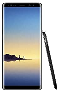 Samsung Galaxy Note 8 UK Sim Free Smartphone - Black (Single Sim)